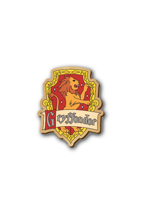 Harry Potter Gryffindor - Hand-painted Lapel Pin & Magnet